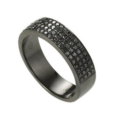 """""""The Traveler"""" Black Diamond Ring"""