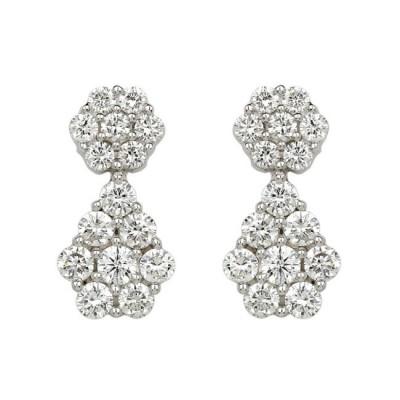 """Mosaica"" Diamond Earrings"