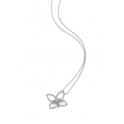"""Paris Quadrifolia"" Diamond Necklace"