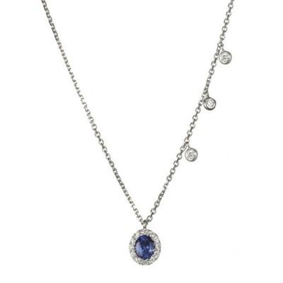 """Rebeca's Ardore"" Sapphire Necklace"