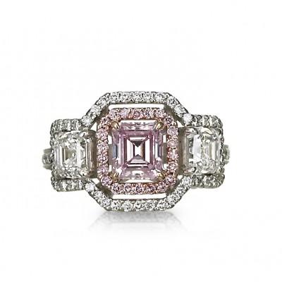"""Pink Jubilee"" Diamond Ring"