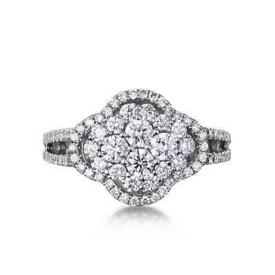 """Francesca"" Diamond Ring"