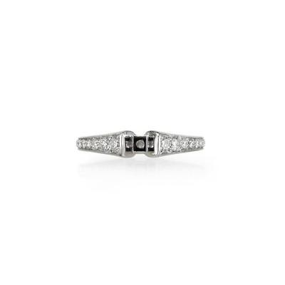 """""""Brio"""" Diamond Wedding Set"""