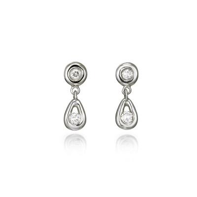 """""""Bari"""" Diamond Earrings"""