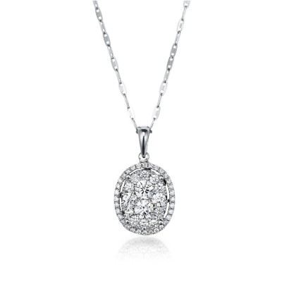 """Simple Brilliance"" Diamond Pendant"