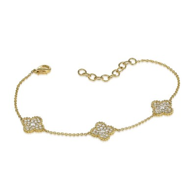 """Trevinata"" Diamond Bracelet"