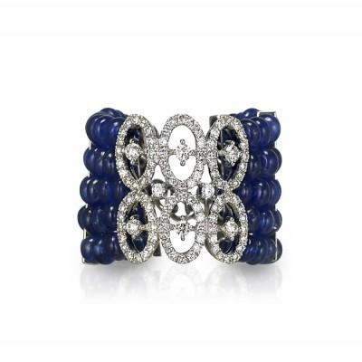 """Infinita"" Sapphire & Diamond Ring"