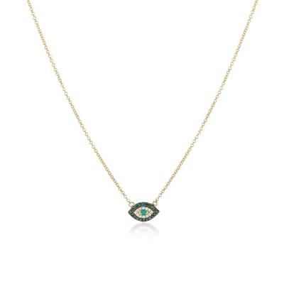 """Cleo"" Lucky Eye Necklace"