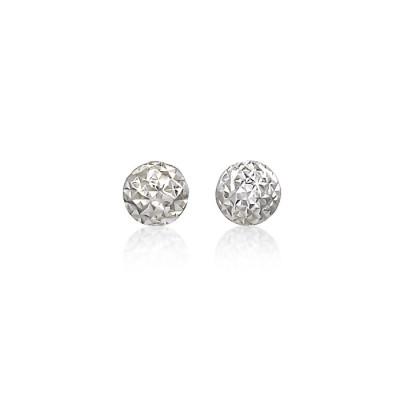 Diamond-Cut Earrings