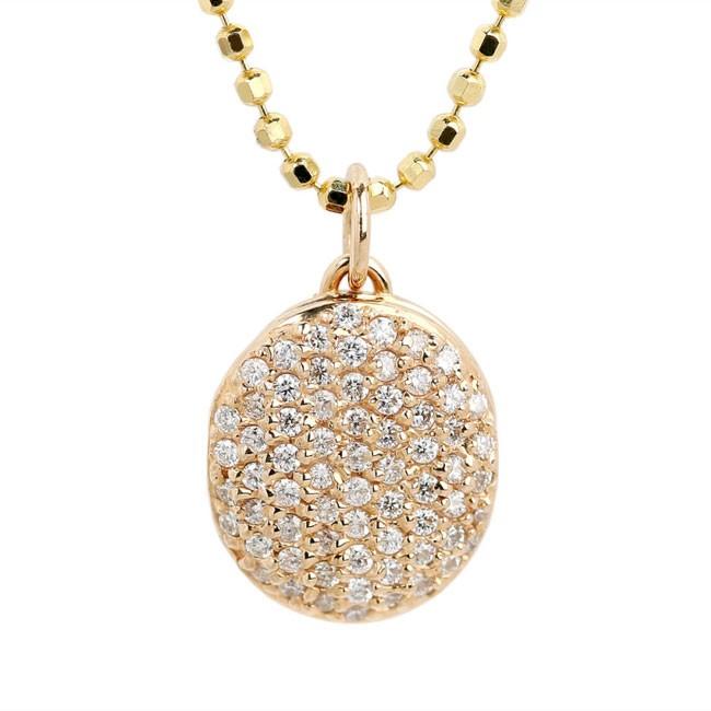 """Brilliant Secret"" Diamond Locket"