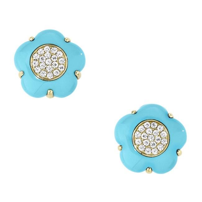 """""""Santa Fe Blossoms"""" Earrings"""