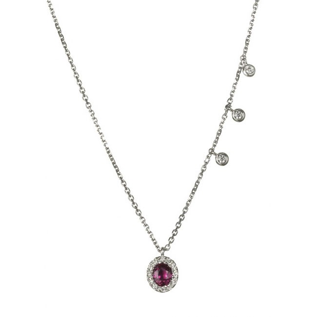 """Rebeca's Ardore"" Ruby Necklace"