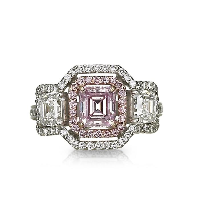 Pink Jubilee Diamond Ring