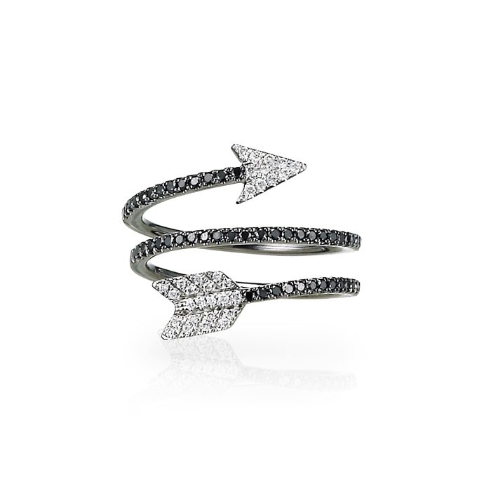 """Aramaya"" Diamond Arrow Ring"
