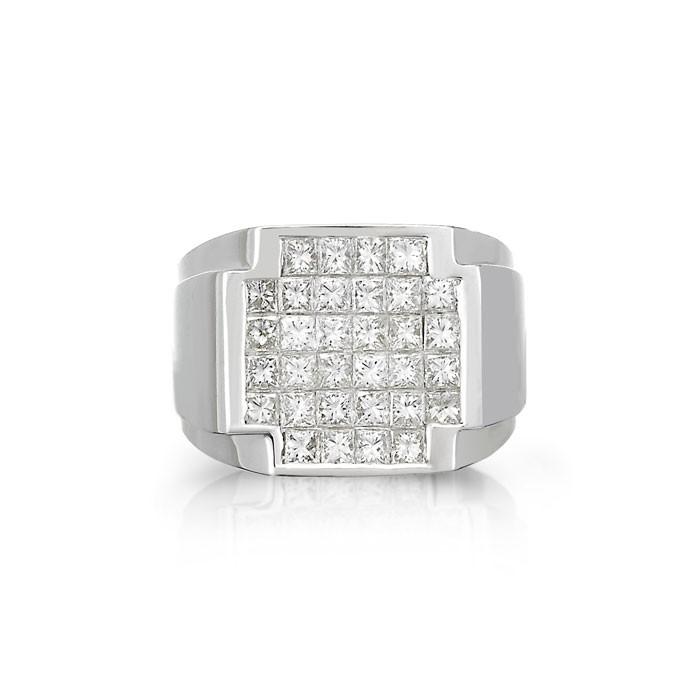 """Cyril"" Men's Diamond Ring"