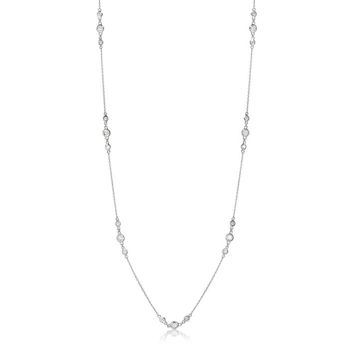 """Intimations"" Diamond Necklace"