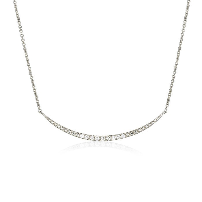 """""""Sabrina's Smile"""" Diamond Necklace"""