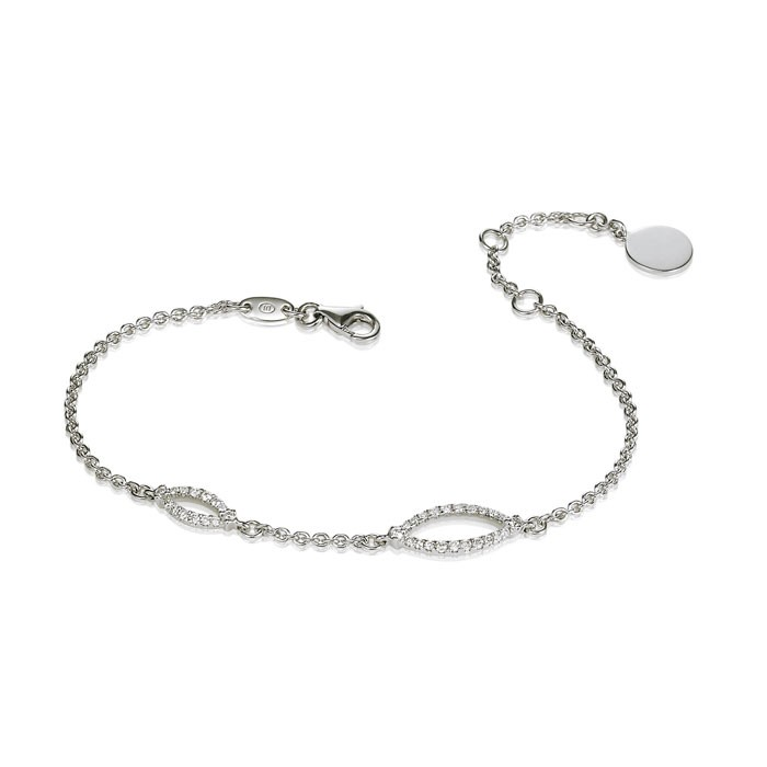 """Nubia"" Diamond Bracelet"