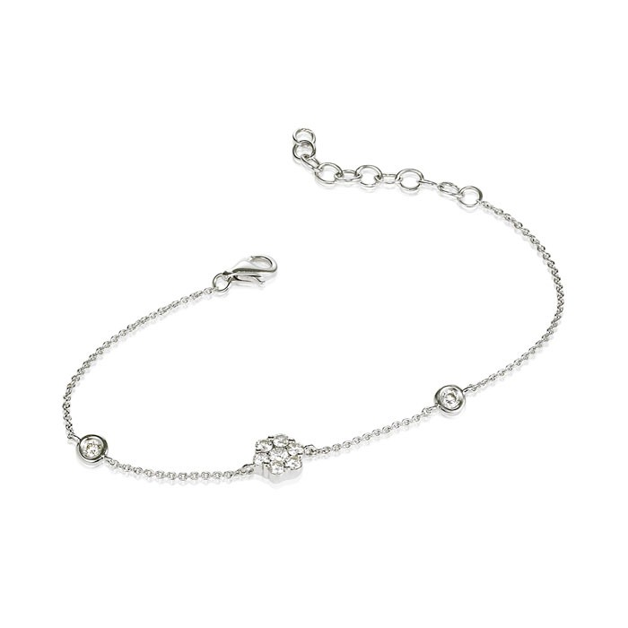 """Raquel"" Diamond Bracelet"