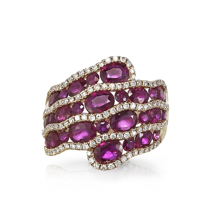 """""""Ruby Sky"""" Right Hand Ring"""