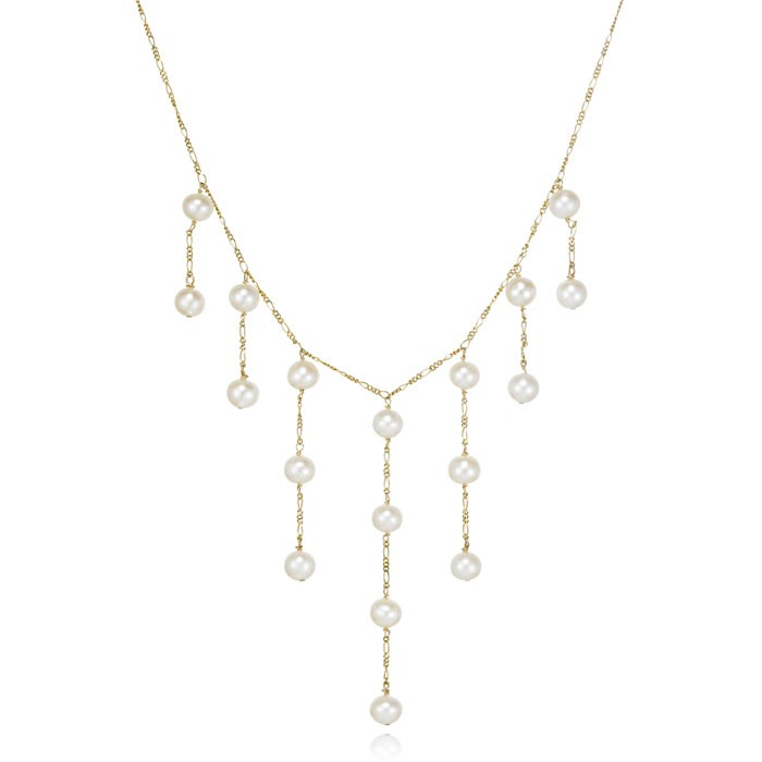 """Kaitlyn"" Pearl Necklace"