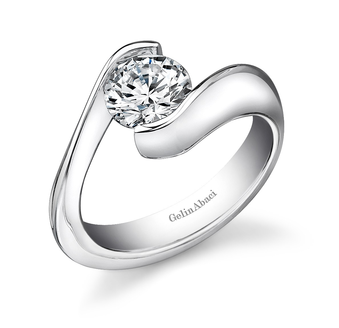 Tension Engagement Ring