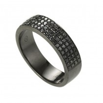 """The Traveler"" Black Diamond Ring"