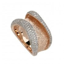 """The Grand Canal"" Diamond Ring"