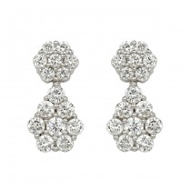 """Mosaica"" Diamond Earrings"