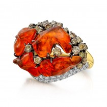 """Desert Fire"" Right Hand Ring"