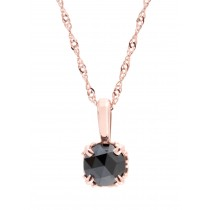 37th Anniversary Black Diamond Pendant