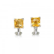"""Tangelira"" Citrine Earrings"