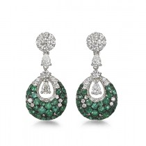 """Doroteia"" Emerald Earrings"