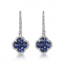 """Diamond Lagoon"" Earrings"