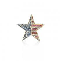 """""""Patriot Star"""" Pin"""