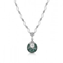 """Doroteia"" Emerald Necklace"