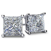Diamond Stud Earrings (GHI/VS-SI)