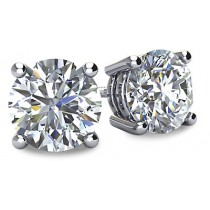 Diamond Stud Earrings (GHI/SI2-3)